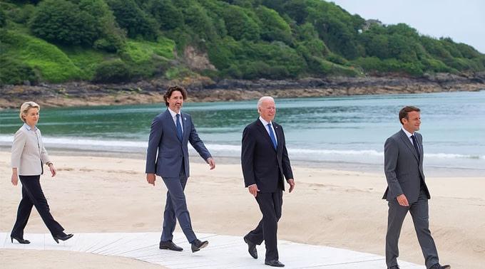 leyen-trudeau-biden-macron-europe-summit-g-7